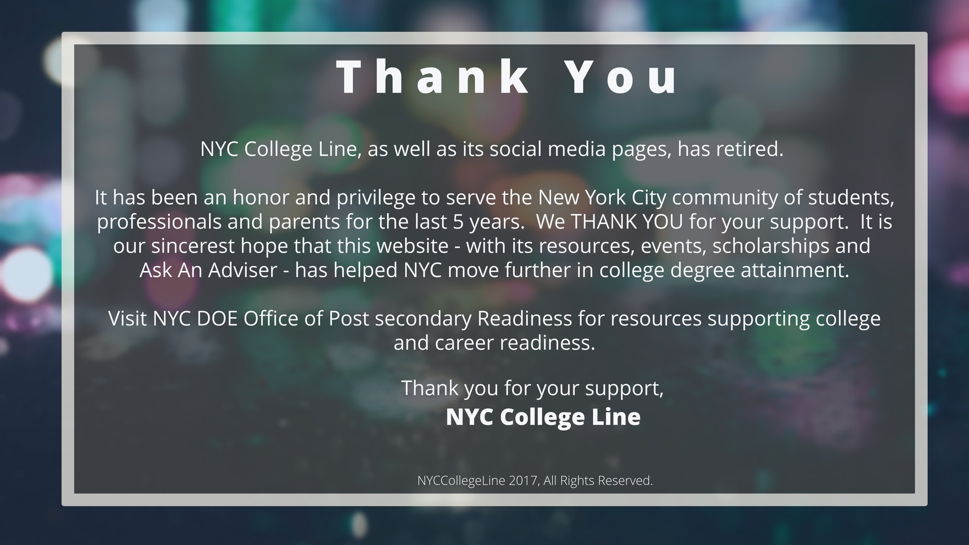 Nyc_college_line_closing_message